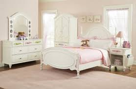Girls White Bed by Bedroom Sweet Paste Pink Girls Bedroom Combined With Light Pink