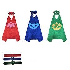 aliexpress buy catboy owlette gekko mask hero cloaks masks