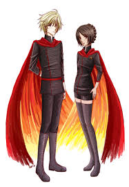 hunger games the tributes on fire by fortykoubuns on deviantart