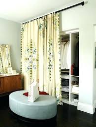 Curtains As Closet Doors Bedroom Door Curtain Closet Curtain Ideas For Bedrooms Best