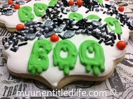 boo halloween sugar cookies recipe u2013 my unentitled life