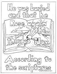 coloring pages for kids by mr adron 1 corinithians 15 4 coloring