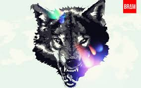 black and white wolf by espador on deviantart