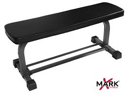Flat Bench Dumbbell Xmark Flat Weight Bench With Dumbbell Rack Xm 4414