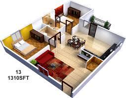 interior design for 2 bhk home
