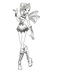 winx club bloom coloring pages 32 winx club pictures