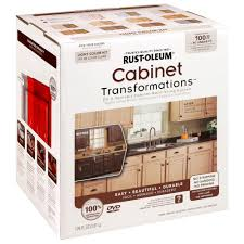 restore cabinet finish home depot rust oleum transformations light color cabinet kit 9 piece 258109