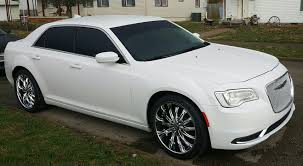 chrysler grill my baby got new shoes 2016 chrysler 300 bright white with