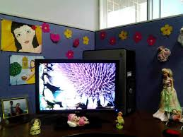 christmas decoration ideas for cubicle cheminee website