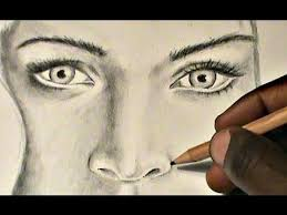 how to draw eyebrows and nose youtube
