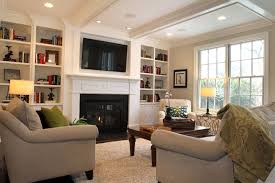 Decorating Family Room With Fireplace And Tv - basement family room decorating ideas interior design