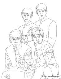 the beatles coloring pages hellokids com