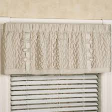Solid Color Valances For Windows Silk Allure Tailored Quilted Valance Window Treatment