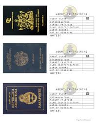 10 best epcot images on pinterest passport template passports