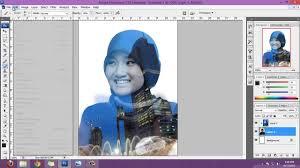 tutorial double exposure photoshop cs3 tutorial double exposure menggunakan photoshop buker pinterest