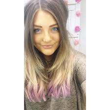 Hair Extensions Giveaway by Zala Clip In Hair Extensions Dyed Purple Balayage Www