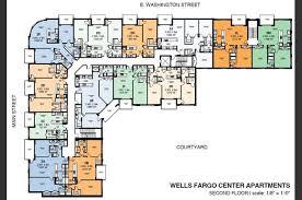 Wells Fargo Center Floor Plan Wells Fargo Center Apartments 10 E Washington Street Greenville