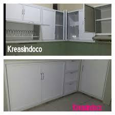 Kitchen Set Minimalis Putih Model Dan Warna Kitchen Set Aluminium Acp Bengkel Las Listrik
