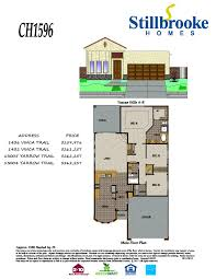 Floor Plan Homes Stillbrooke Homes