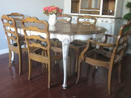 Country Dining Chairs Antique Set Of 6 Dining Chairs Country Kitchen White