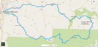 Ar Map The Buffalo River Ride Bikes Blues U0026 Bbq
