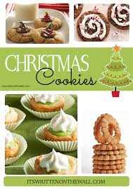 it u0027s written on the wall 22 yummy christmas cookie recipes cookie