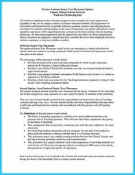 Sample Of Resume For Teachers by There Are Several Parts Of Assistant Teacher Resume To Concern