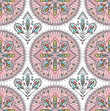 vector seamless pattern with ethnic arrows feathers and tribal