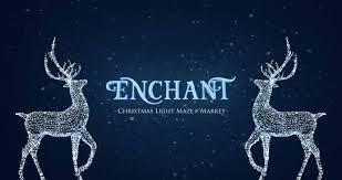 vancouver christmas light maze enchant vancouver canuck place