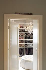 interior extraordinary small walk in closet design using red