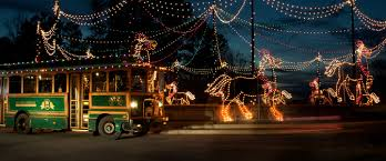 light show in atlanta here are the top 10 christmas towns in georgia