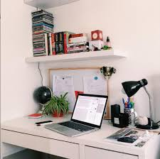 minimalist studyblr workspace on the first day back at sixth form