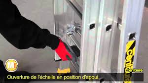 Echafaudage Leclerc by Echelle Transformable T3 Centaure Gamme Master Youtube