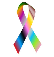 diabetes ribbon color we live and remember caign cause awareness