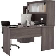 Sutton L Shaped Desk by Bestar U2013 Sutton Grey L Shape Workstation Amazon Ca Office Products