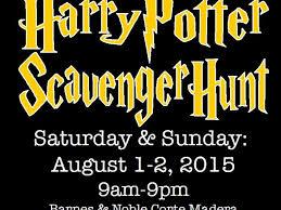 Barnes And Noble Santa Rosa Harry Potter Scavenger Hunt At Barnes U0026 Noble Corte Madera