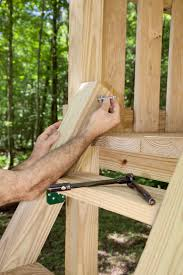 How To Build A Wooden Playset Easy Wooden Swing Set Plans How To Build A Swing Set For The Yard