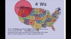 The 50 States Map by Remember The 50 States Youtube