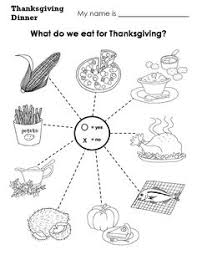 thanksgiving dinner thanksgiving worksheets festival collections