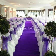 purple aisle runner hire aisle carpet runner hire for weddings and wedding reception