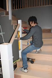 How To Install Stair Banister Remodelaholic Curved Staircase Remodel With New Handrail