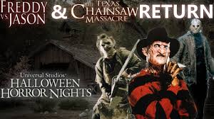 halloween horror nights poster titans of terror maze at halloween horror nights youtube