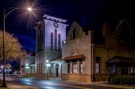 home lighting salisbury nc railroad depot in salisbury nc photographed at night stock image