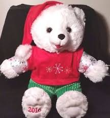 stuffed teddy bears walmart com walmart christmas bears ebay