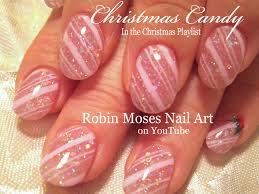 diy christmas nails easy candy cane nail art design tutorial
