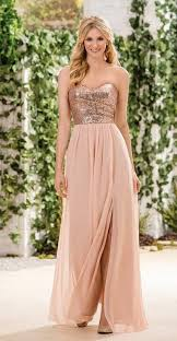 2016 long blush color bridesmaid dresses with sparkly strapless