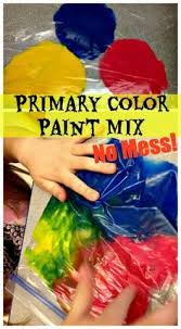 free color mixing printable for primary and secondary colors