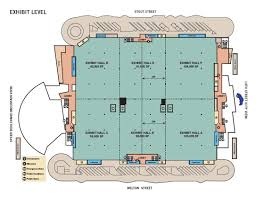 Floor Plans For Schools Venue Directory And Map Colorado Convention Center Denver