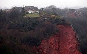 clifftop home in torquay loses garden in rock fall days after sale