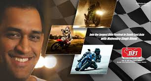 hellcat x132 dhoni ms dhoni brings bike festival of india to an exciting finish u2013 bfi